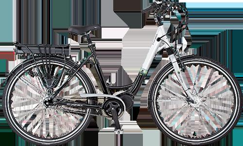 e bike alu city light mit mittelmotor 28 zoll shop elektrofahrr der oldemeier h ndler f r. Black Bedroom Furniture Sets. Home Design Ideas